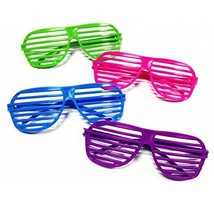 Rhode Island Novelty 24 Pairs of 80's Sunglasses Party Favors - £10.86 GBP