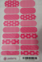 Jamberry Lead Consultant K003 Nail Wrap Full Sheet - $15.83