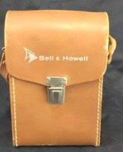 Vintage Bell Howell Camera Leather Carrying Case Storage Case Only Brown... - $14.99