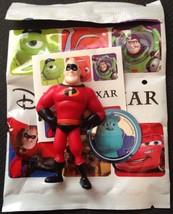 disney pixar mr incredible mini figurine new with sticker - $5.19