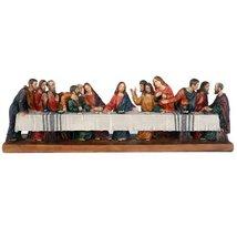 The Last Supper Da Vinci Inspiration Tabeltop Figurine Decorative Gift 1... - $36.00