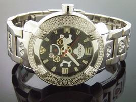 Aqua Master Men's diamond  96 Model Stainless Steel Watch With Skeleton ... - $187.11