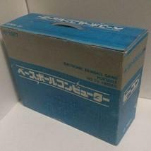 Takatoku Baseball Computer mit Zubehör Vintage Retro Selten Spiel von Japan - $214.67