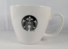 Pre-Owned Starbucks 20 fl oz Coffee Mug Black Logo Siren Mermaid Collect... - $13.99