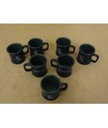 Seattle Mariners Lot of 7 Mug Shots Blue/Green 2oz Espresso 659910 Ceramic - $25.71