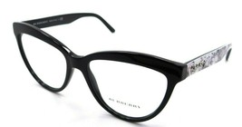 Burberry Rx Eyeglasses Frames BE 2276 3723 53-16-140 Black Made in Italy - $176.40