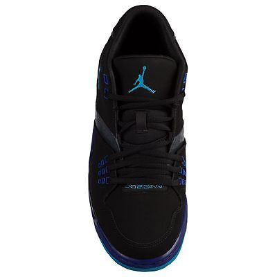 free shipping ff32d 44b95 Men s Air Jordan Flight 23 Off Court Shoes, 317820 013 Size 12 Black Blue