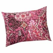 Pottery Barn Lucia Mosaic Tile Standard Pillow Sham 26x20 Pink Magenta B... - $23.75