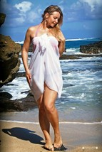 10 Pcs Wholesale WHITE BEACH COVER UP SARONG SOFT POLY WRAP PAREO BIKINI... - $59.97