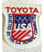 TOYOTA Iron On Patch Emblem USA Olympic Committee - $4.95