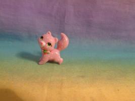 Strawberry Shortcake Miniature Pet Cat Custard PVC Figure - HTF - $7.87