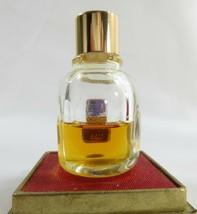 Vintage GIVENCHY L'INTERDIT PERFUME/PARFUM 1/4 oz 7 ml Splash Rare in Bo... - $61.38