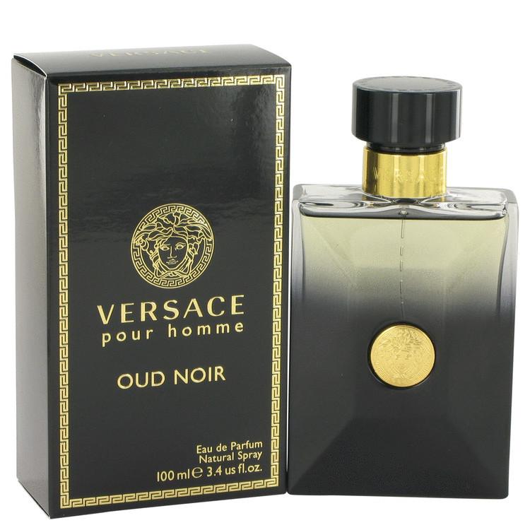 Versace pour homme oud noir 3.4 oz eau de parfum