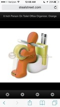 RICSB 'The Butt' Office Supply Station Desk Accessory Holder, Orange, NIB - €11,32 EUR