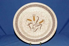 "Homer Laughlin Brown Speckled Wheat Dinner Plates Set Of 3 10 1/4"" - $6.29"