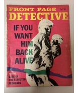 FRONT PAGE DETECTIVE DECEMBER 1968 Case of Executed Redheads - $14.01