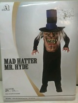 Mad Hatter Mr Hyde child unisex M 7 - 8  Theater Halloween New in package - $19.99