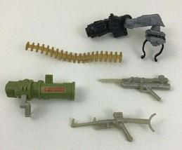 Aliens vs Predator Figure Replacement Parts Weapons Lot Gun Bullets Kenner 1993 - $14.22