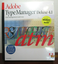 Adobe Type Manager Deluxe 4.1 for Windows - $14.85