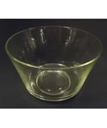 Designer Large Bowl 7in x 11in x 11in 58-58fb Vintage Glass - $25.64