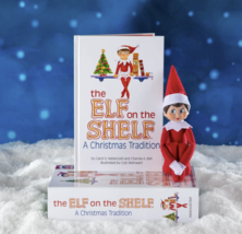 Box Set Elf on the Shelf Doll and Book - Girl - Blue Eyes Dark Hair - Brand NEW image 4