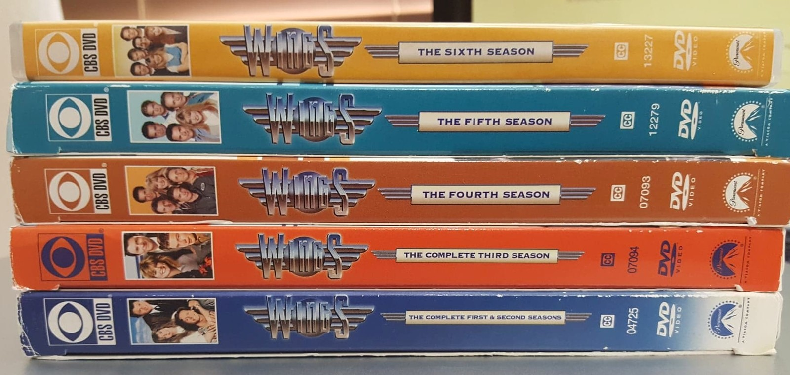 Wings Seasons 1-6 DVD