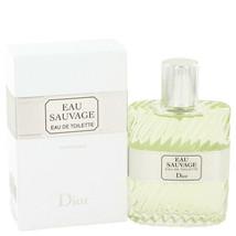 Eau Sauvage By Christian Dior 1.7 Oz Edt Spray For Men - $75.25
