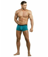 MALE POWER BAMBOO LOW RISE POUCH ENHANCER SHORT TEAL Size Small - $15.67