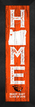 """Personalized Oregon State Beavers """"Home Away from Home""""  8 x 24 Framed P... - $39.95"""