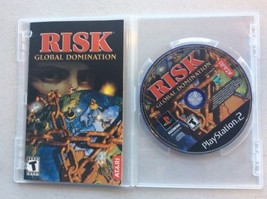 Risk Global Domination (Sony Playstation 2 PS2) Disc Only w/ Manual - $8.90