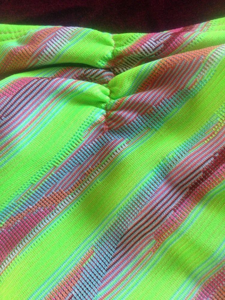 L*Space Oooh La La Full Cut Bottom String Bikini Size Medium MSRP $74.80