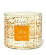 Bath & Body Works Caramel Drizzle 3 Wick Scented Candle 14.5 oz - $28.04