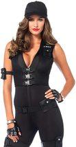 Leg Avenue Women's 7 Piece Deluxe Swat Commander Costume image 3
