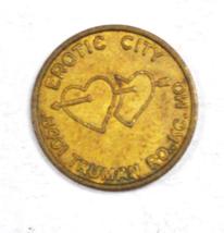 Erotic City 8401 Truman Road Kansas City Missouri Trade Token 20mm - $19.79