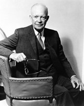 Dwight D. Eisenhower 16x20 Canvas Giclee President Seated Portrait Repub... - $69.99