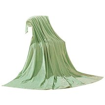 Baby Summer Air Conditioning Green Coral Carpet Infant Towel Blanket image 2