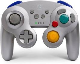 PowerA SUPER SMASH Wireless Controller Nintendo Switch GameCube Silver *... - $47.51