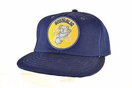 Australia Blue  Baseball Cap Snapback - $17.59