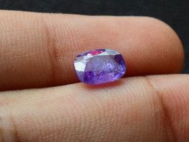 Natural Gemstones Untreated Unheated Burma Myanmar Blue Sapphire Faceted... - $95.00