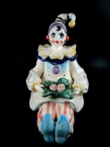 "Vintage Lefton Schimd Music Box Clown 03249 Plays ""CABARET"" - $24.75"