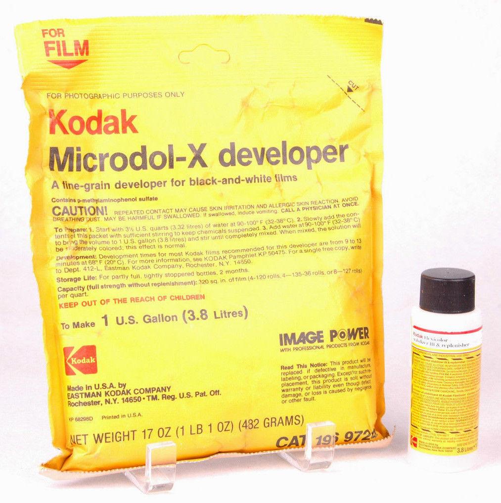 Kodak Microdol-X Developer & Flexicolor and 34 similar items