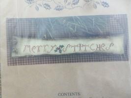 Homespun Elegance Merry Stitches Cross Stitch Pattern By Sandra Sullivan - $4.95