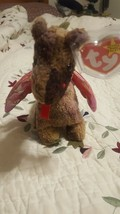 Ty Beanie Baby SCORCH The Dragon Rare 1998Vintage - $7.91