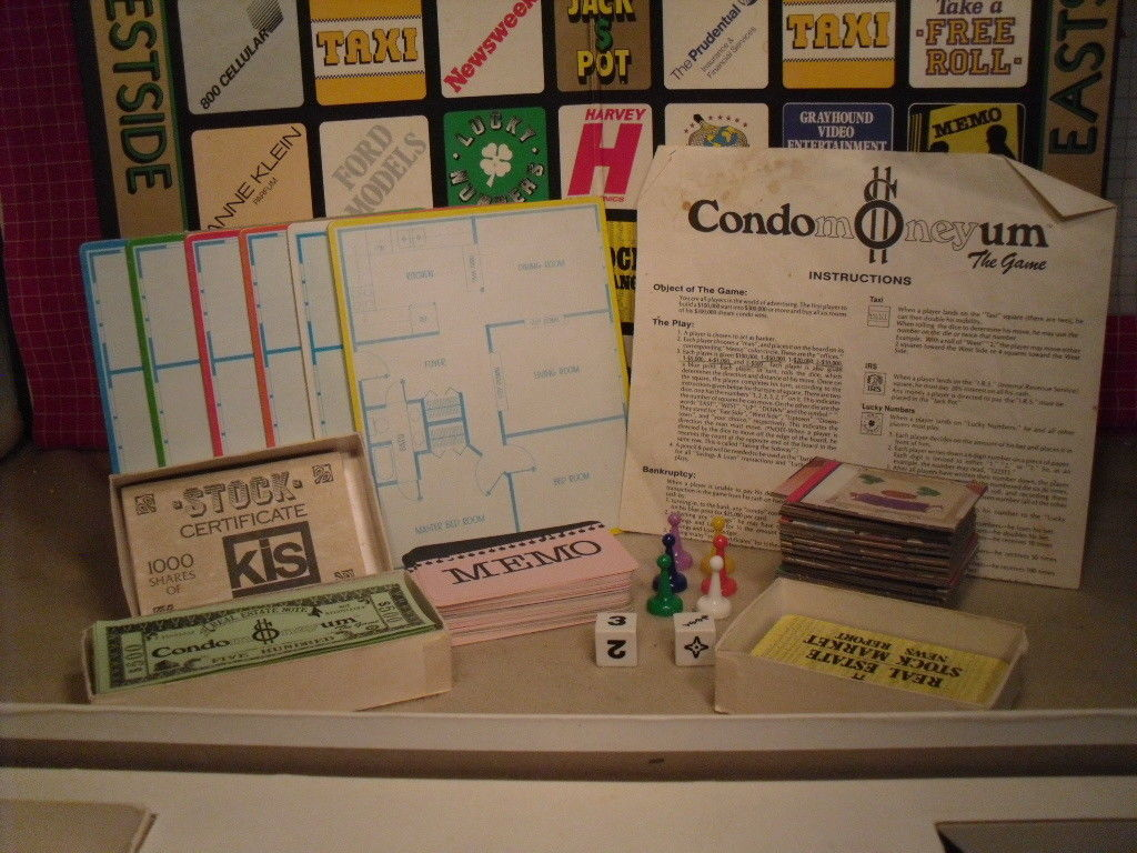 Condomoneyum The Board Game from ESM - 80s Lifestyle image 3