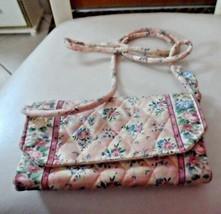 Vera Bradley strap wallet in retired Pastel Pink pattern  - $29.99