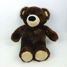 "Build A Bear Plush Brown Classic Teddy Bear Fluffy Stuffed Animal 13""  - $13.86"