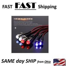 6 LED kit for RC car RC truck - head light & tail light for TRAXXAS & ot... - $13.49