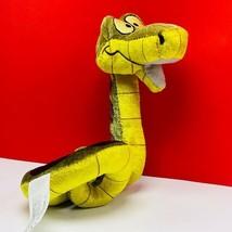 Walt disney store bean bag plush beanbag stuffed animal Jungle Book snake Kaa - $38.57