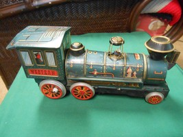 Great Collectible Vintage Tin Toy WESTERN Locomotive-Battery Operated - $39.19