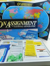 On Assignment With National Geographic Travel Board Game Vintage - $24.99